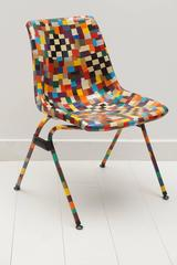 Multi-Color Decoupage Chair