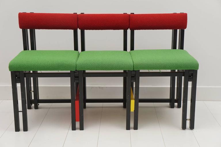 custom design metal frame bench for sale at 1stdibs. Black Bedroom Furniture Sets. Home Design Ideas