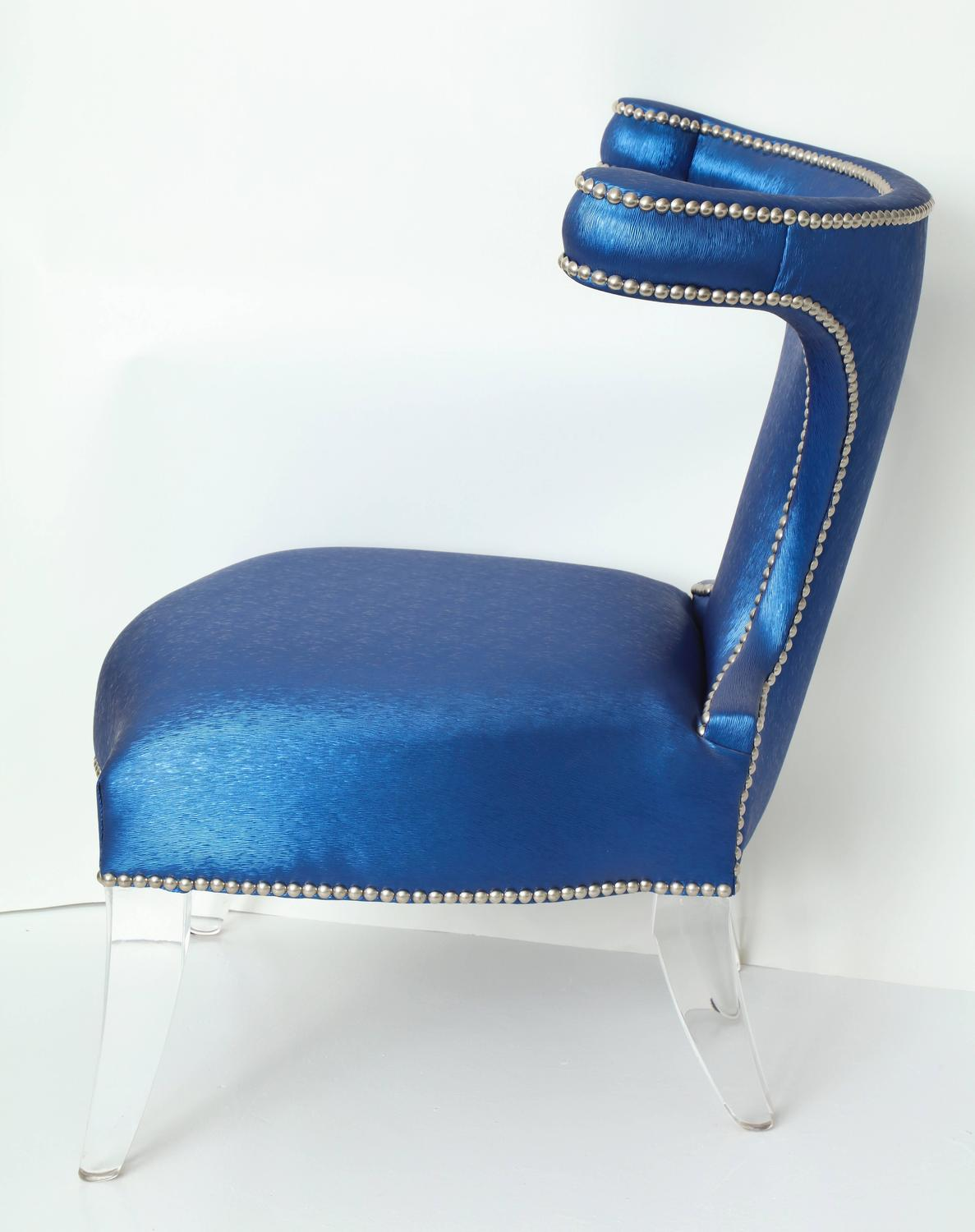 Empire Style Chair With Lucite Legs For Sale At 1stdibs