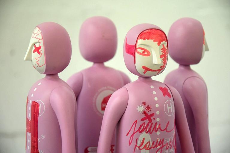 Plastic Jaime Hayon Art Sculptures For Sale