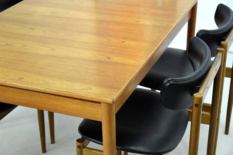 Mid-20th Century 1960s Dining Room Set by Thereca For Sale