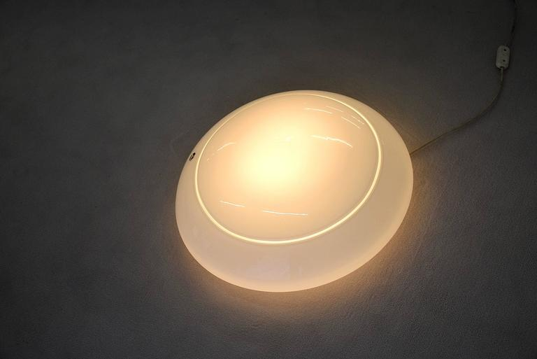 1970s Table Lamp by Res Murano Venice In Excellent Condition For Sale In Weesp, NL