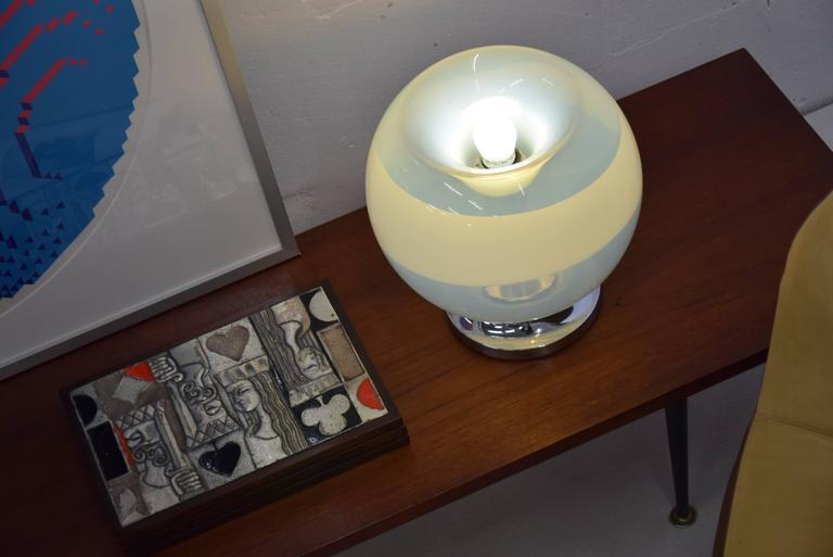 Mazzega, Venezia 1970s Table Lamp For Sale 1