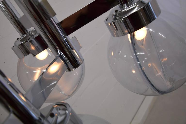 Venini Mid Century Modern Ceiling Lamp In Excellent Condition For Sale In Weesp, NL