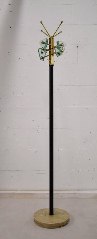Mid-20th Century Style of Fontana Arte Mid-Century Coat Stand For Sale