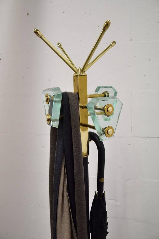 Style of Fontana Arte Mid-Century Coat Stand For Sale 3