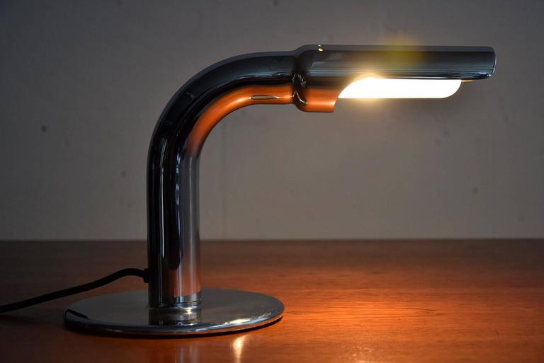 Ingo Maurer Mid Century Modern Table Lamp Gulp For Sale 2