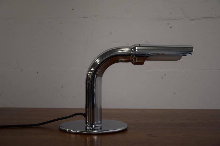 Ingo Maurer Mid Century Modern Table Lamp Gulp In Good Condition For Sale In Weesp, NL