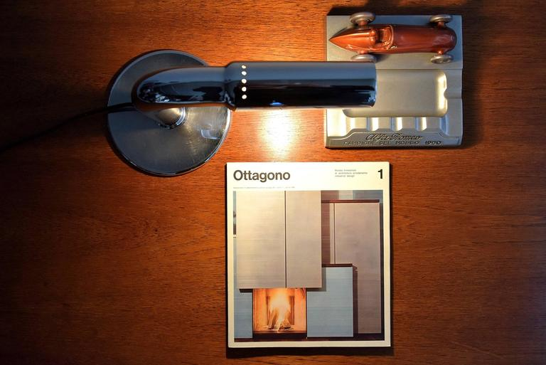 Ingo Maurer Mid Century Modern Table Lamp Gulp For Sale 1