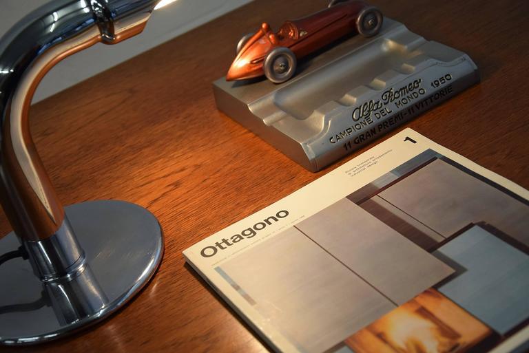 Mid-Century Modern Ingo Maurer Mid Century Modern Table Lamp Gulp For Sale