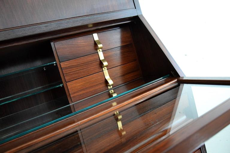 Mid-Century Modern Ico Parisi Mid Century Modern Rosewood Credenza For Sale