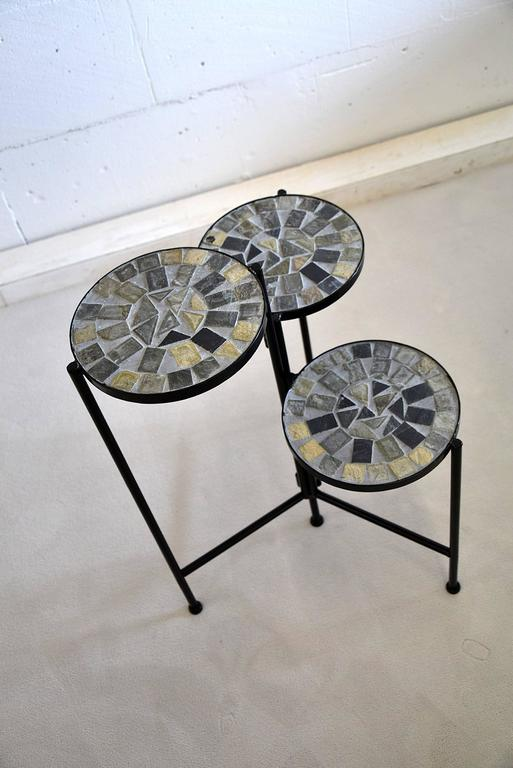 Metal Mid-Century Modern Dutch Plant Stand For Sale