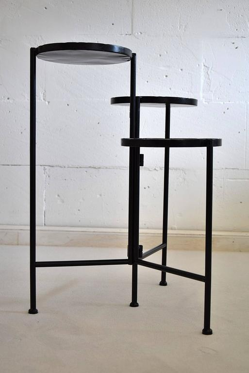 Mid-Century Modern Dutch Plant Stand For Sale 4