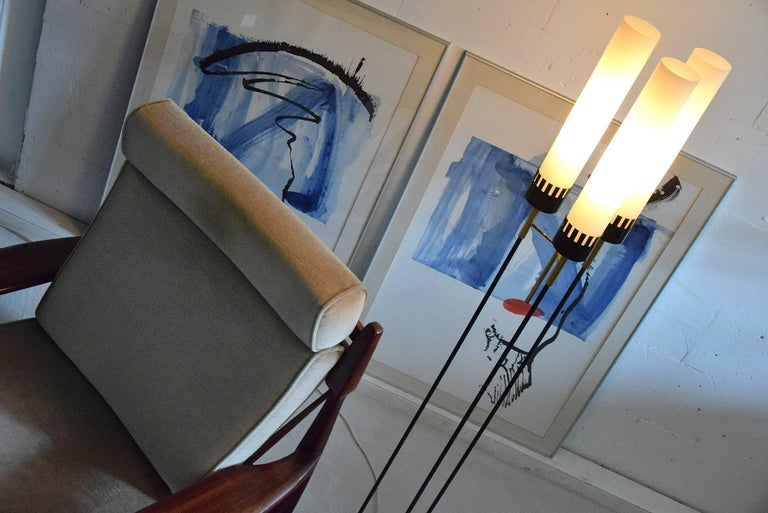 Stilnovo Mid-Century Floor Lamp For Sale 1