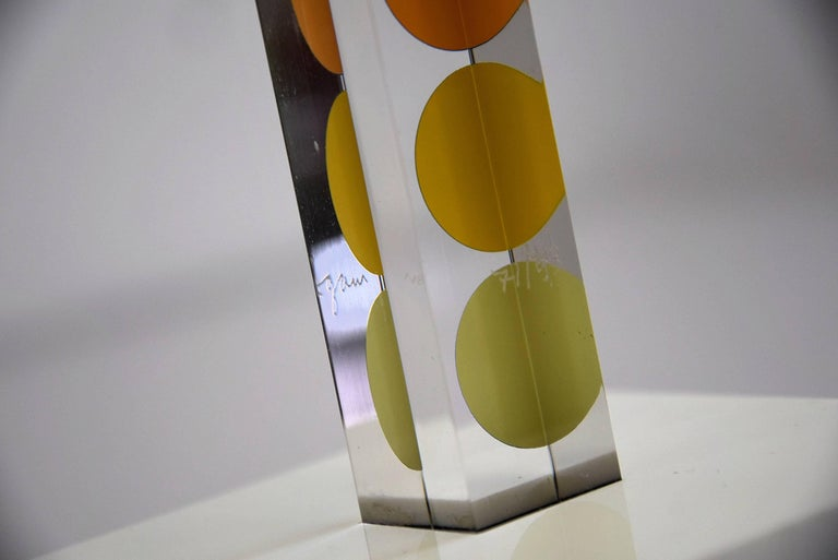 French Art Sculpture by Yaacov Agam For Sale