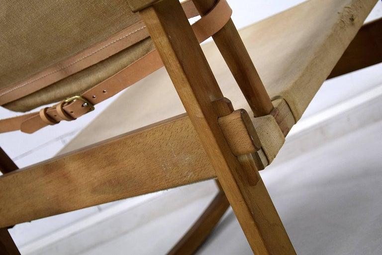 Mid-Century Modern Rare Mid Century modern Poul Hundevad Rocking Chair For Sale