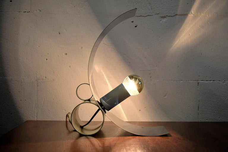 Tagliapietra Midcentury Italian Table Lamp For Sale 3