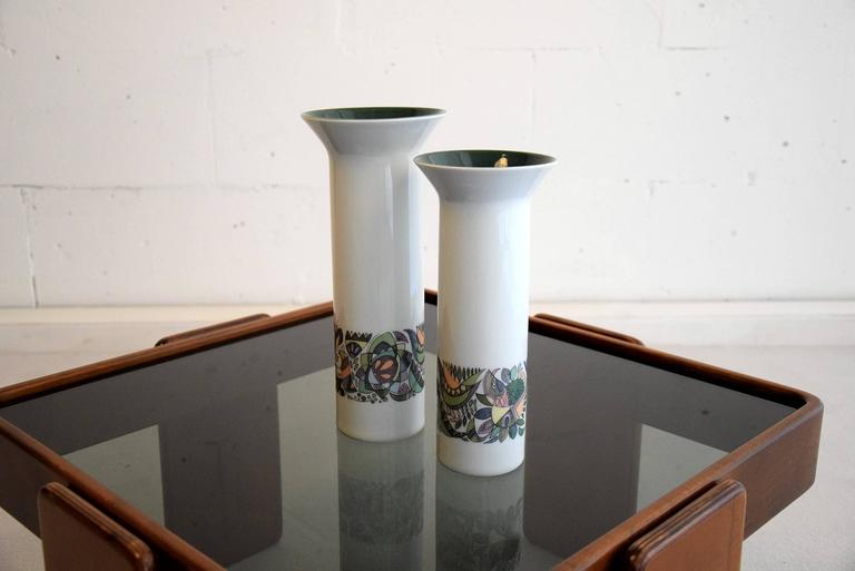 German Cuno Fischer  Vases for Rosenthal For Sale
