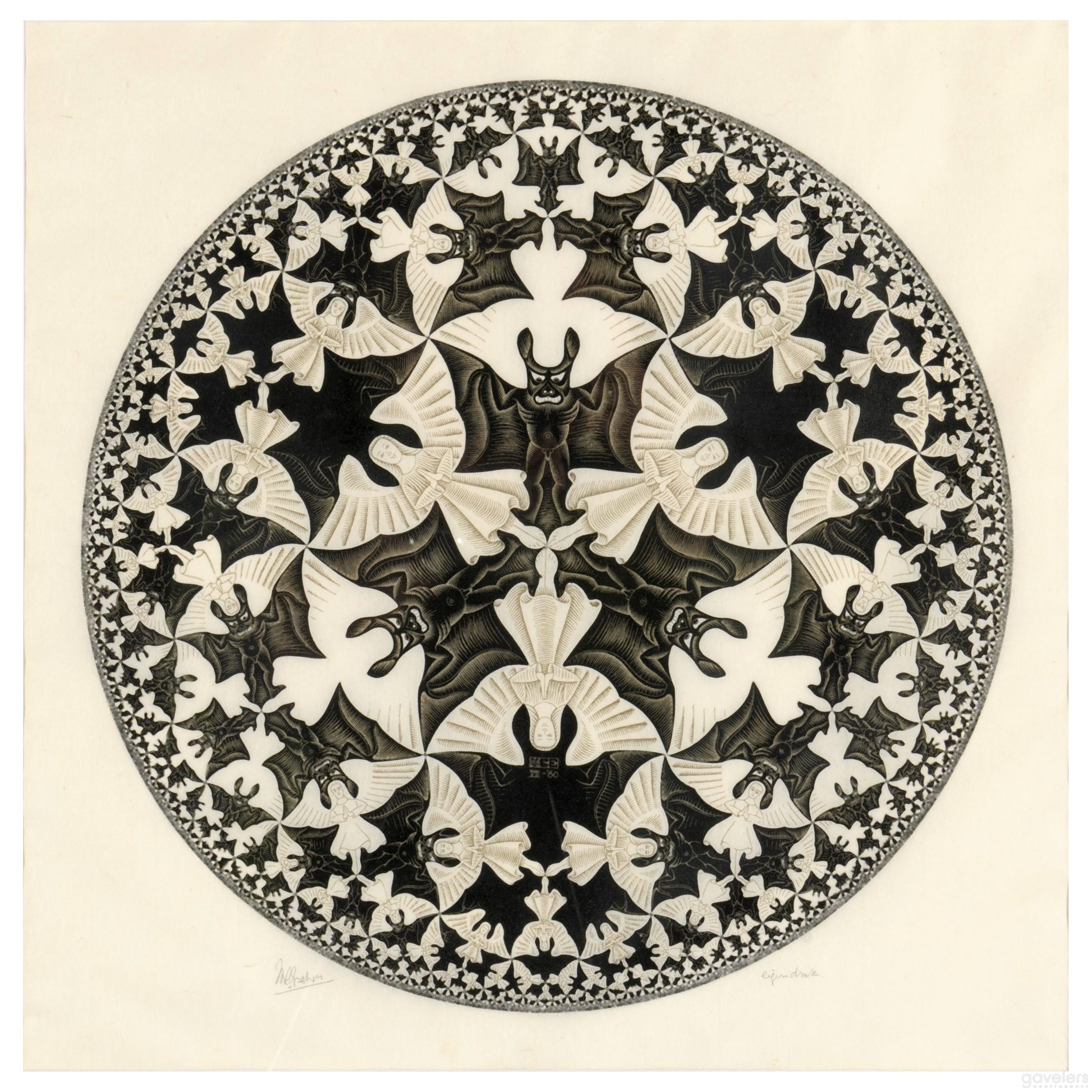 Image result for escher angels and demons