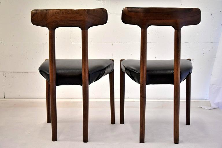 20th Century Rosewood T Chair For Sale 3