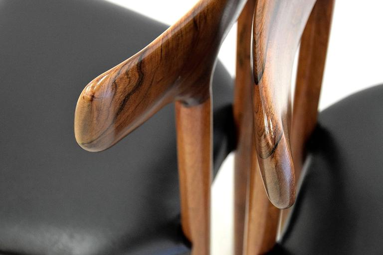 20th Century Rosewood T Chair For Sale 2