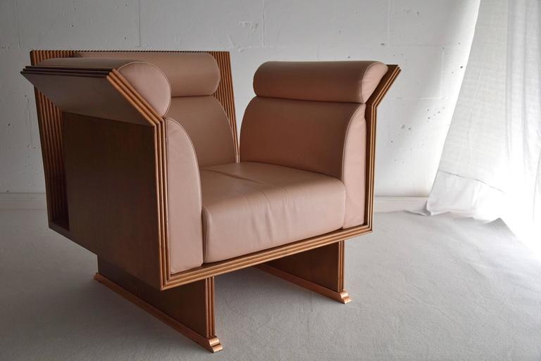 Poltrona Pretenziosa Chairs by Ugo La Pietra, 1983 2
