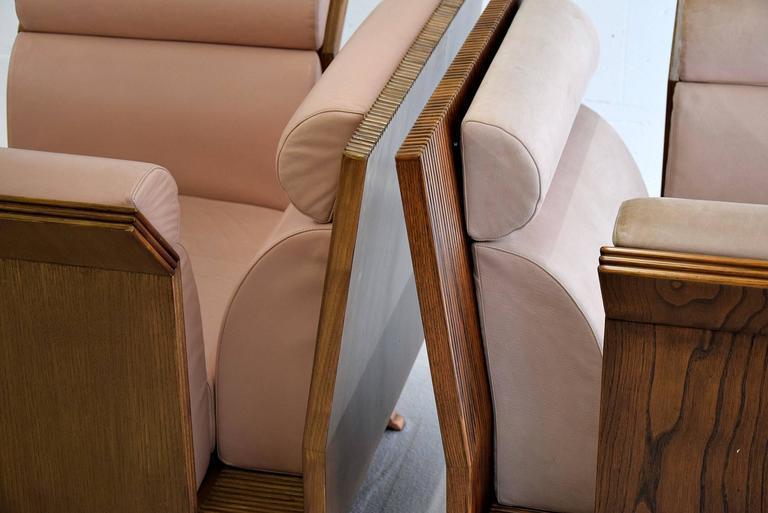 Poltrona Pretenziosa Chairs by Ugo La Pietra, 1983 In Excellent Condition In Weesp, NL