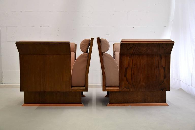 Poltrona Pretenziosa Chairs by Ugo La Pietra, 1983 1