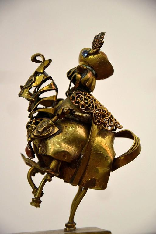 Polish Mid-Century Figurative Art by Nowakowscy For Sale