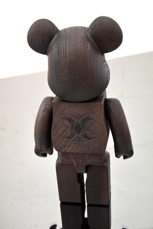Kaws Original Fake Nexus Vii Wood Bearbrick At 1stdibs