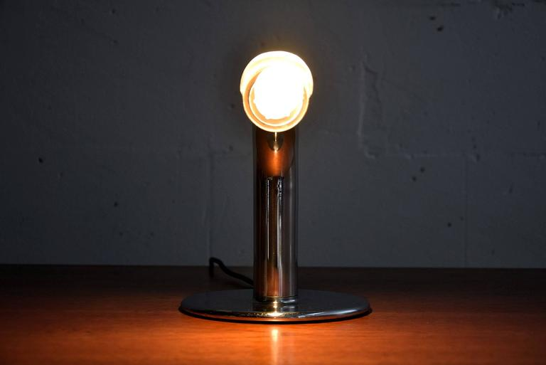 Late 20th Century Ingo Maurer Mid Century Modern Table Lamp Gulp For Sale