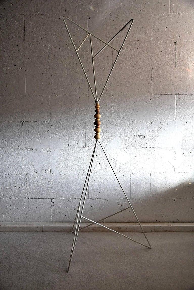 Scandinavian Sculptural 1990s Coat Stand For Sale 2