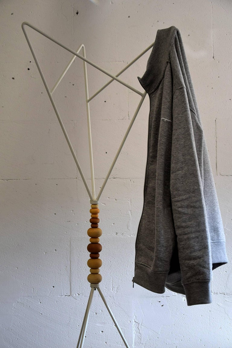 Late 20th Century Scandinavian Sculptural 1990s Coat Stand For Sale