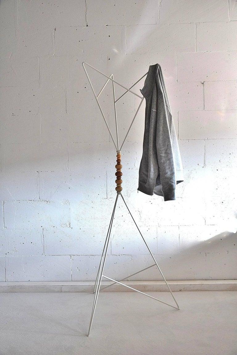 Swedish Scandinavian Sculptural 1990s Coat Stand For Sale