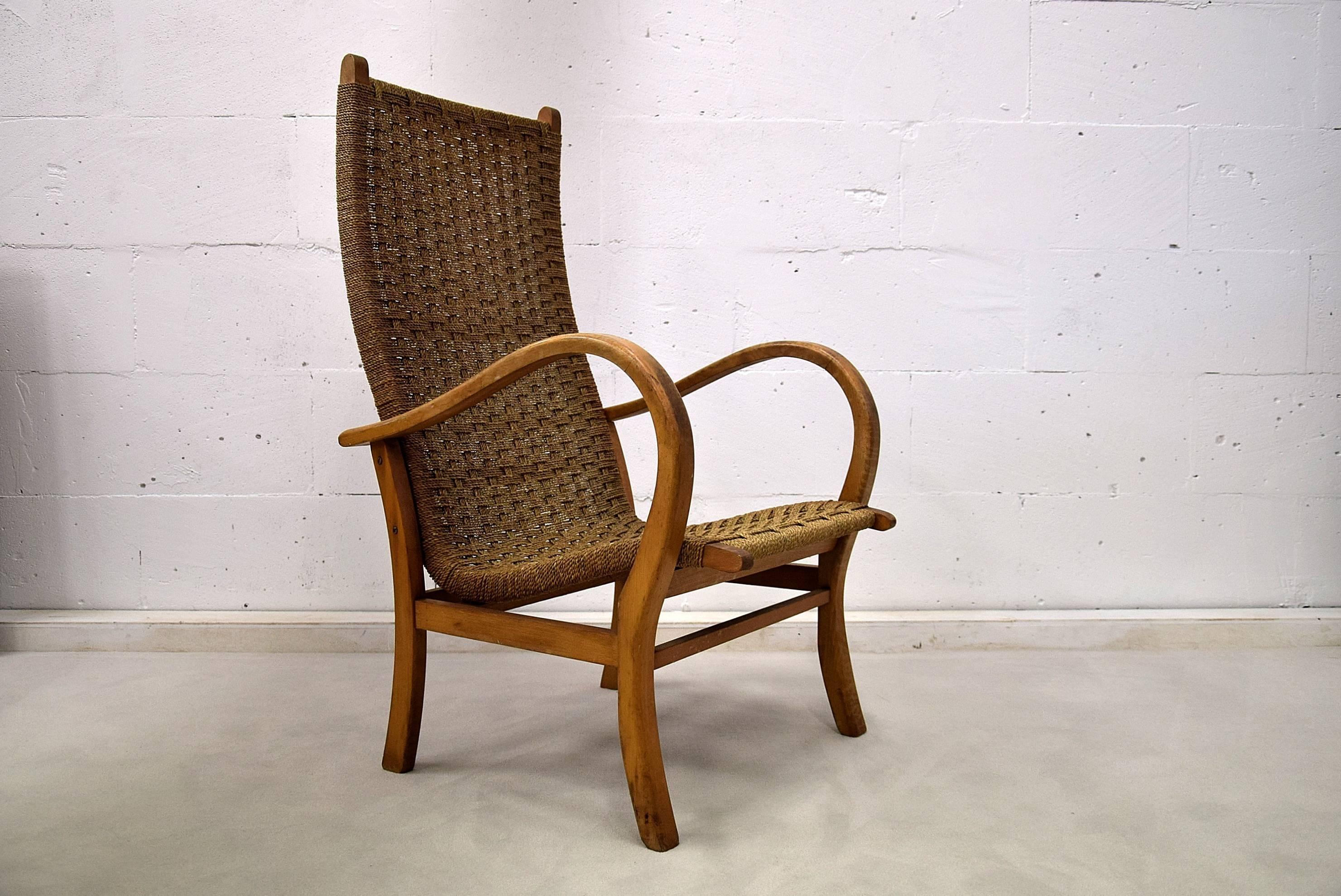 Erich Dieckmann Bauhaus Lounge Chair At 1stdibs