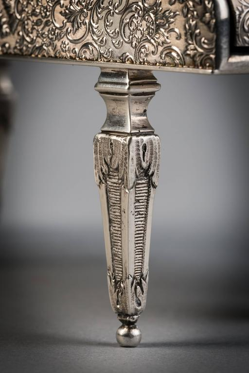Hallmarks for London, 1901. Maker: Charles Dumenil.