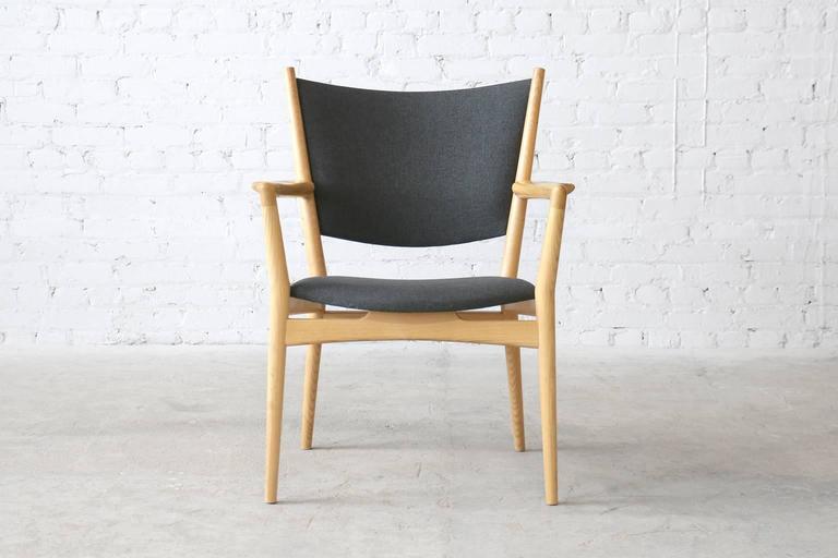 Six Hans Wegner PP240 PP Møbler Vintage Danish Modern Ash Armchairs 3