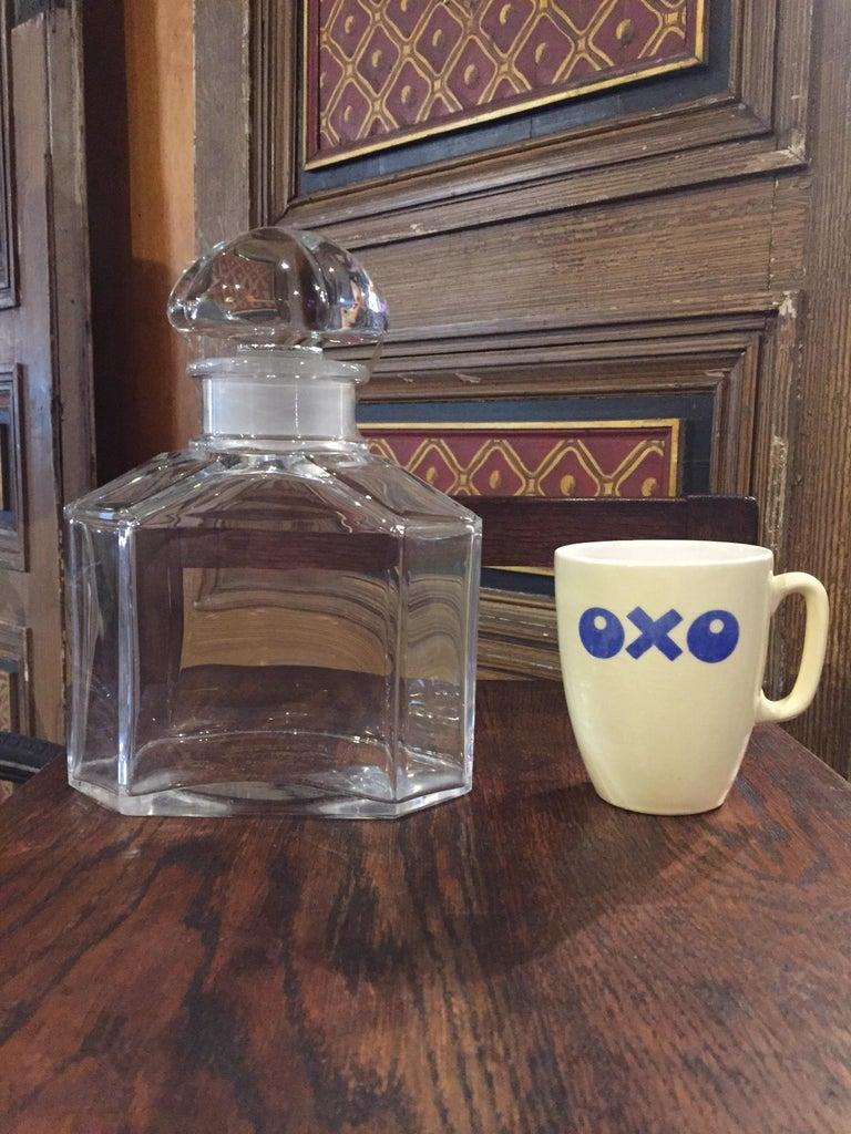 Große Vintage Parfüm Flasche, Guerlain Baccarat 11