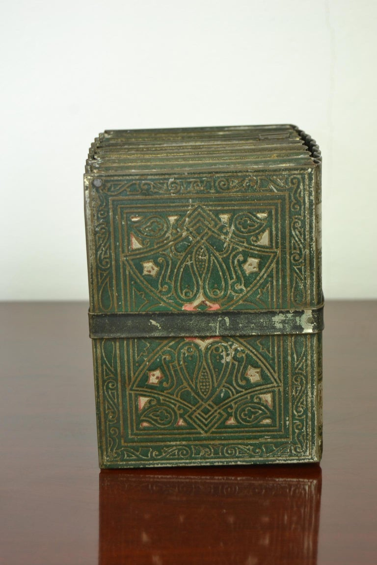 1903 Huntley and Palmers Tin Books Box by Sir Walter Scott For Sale 1
