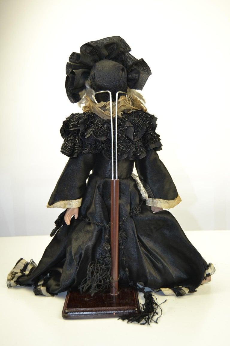 1920s French Boudoir Dolls, Salon Dolls, Pierrot and Pierrette For Sale 13