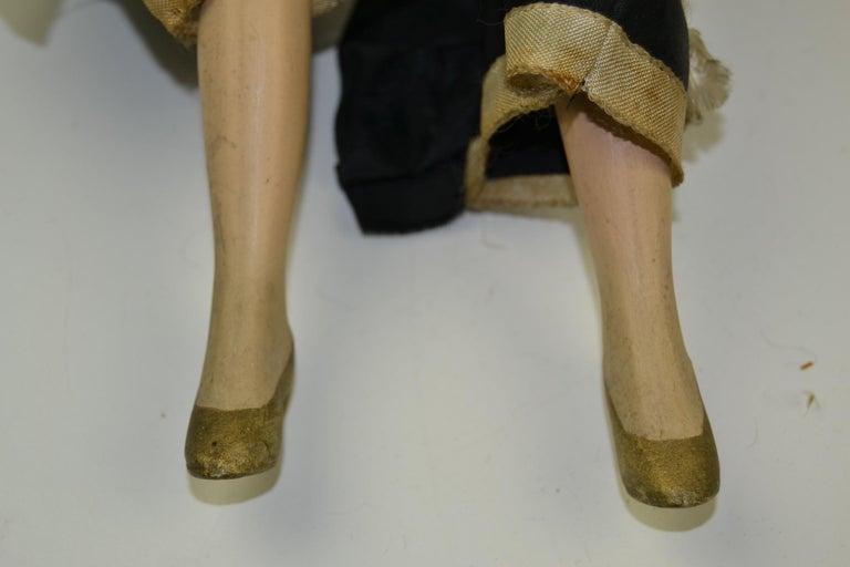1920s French Boudoir Dolls, Salon Dolls, Pierrot and Pierrette For Sale 2
