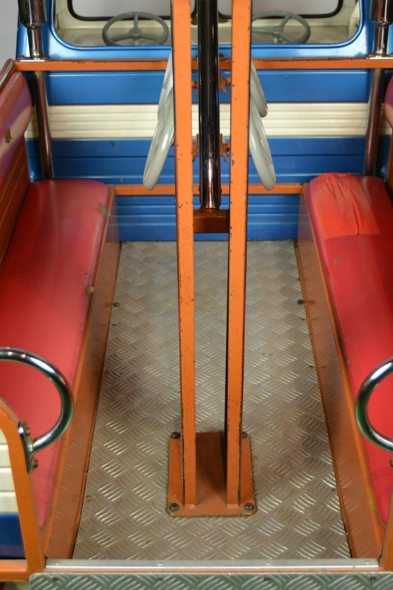 1980s Metal Carousel Tow Truck by L' Autopède Belgium For Sale 7