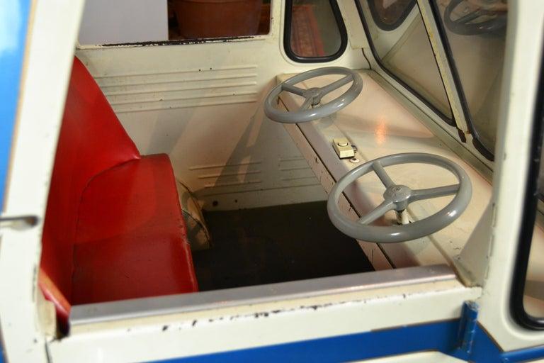 1980s Metal Carousel Tow Truck by L' Autopède Belgium For Sale 2