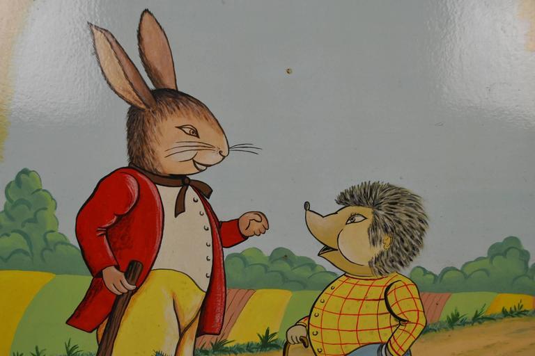Image result for mr hedgehog and mr hare