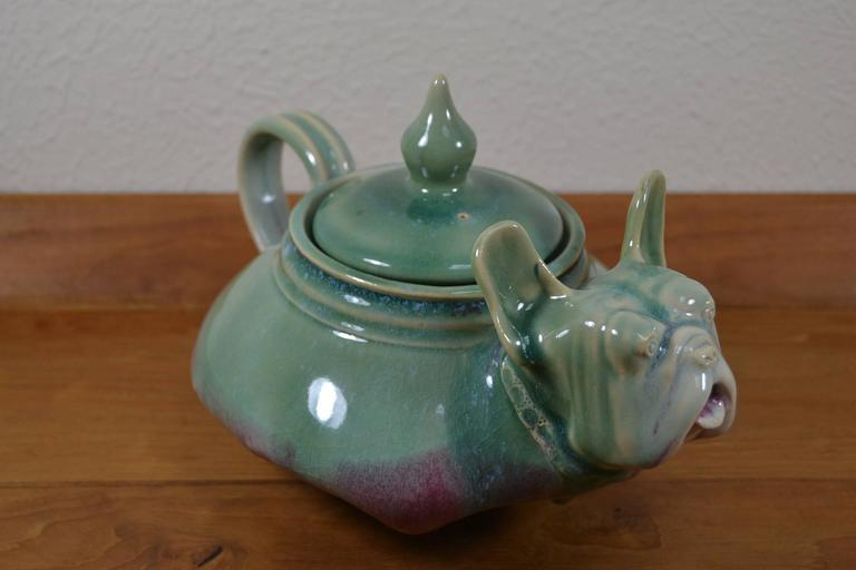 Awesome Vintage Bulldog Teapot For Sale At 1stdibs