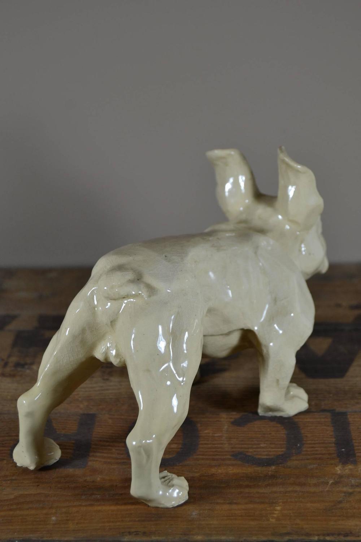 Art Deco Ceramic French Bulldog For Sale At 1stdibs