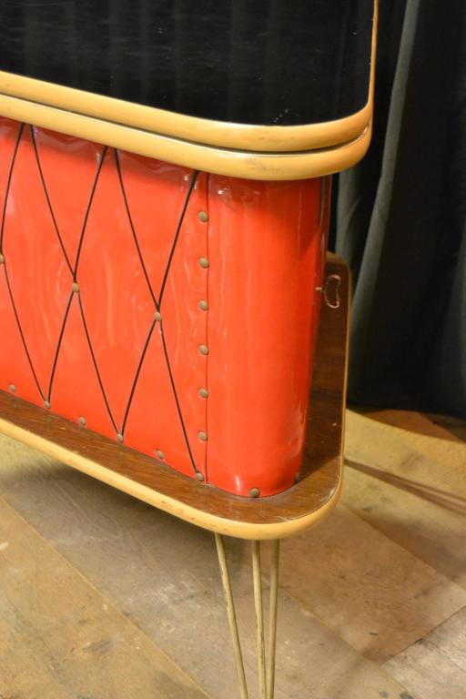 1950s red home bar cabinet counter for sale at 1stdibs rh 1stdibs com red homeware red homeware