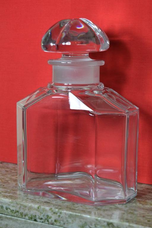 Große Vintage Parfüm Flasche, Guerlain Baccarat 3