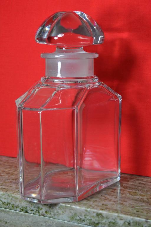 Große Vintage Parfüm Flasche, Guerlain Baccarat 4