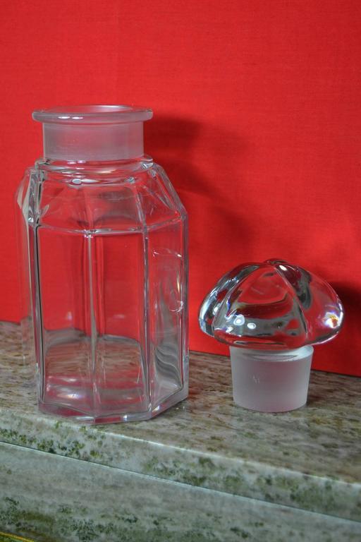 Große Vintage Parfüm Flasche, Guerlain Baccarat 6
